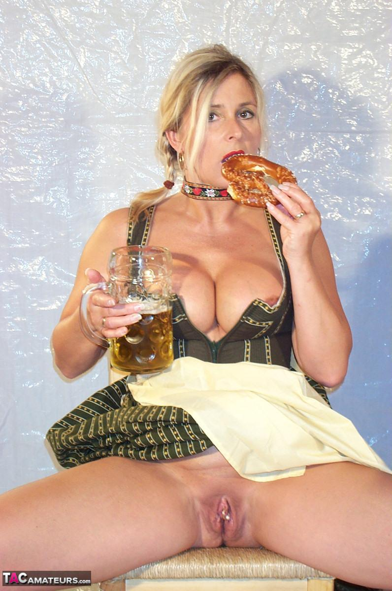 Chrissy huge tits german